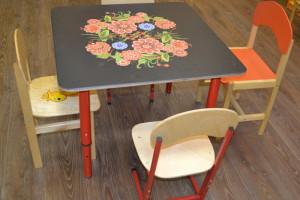 Высота стульев и столов в детском саду: почему важно?